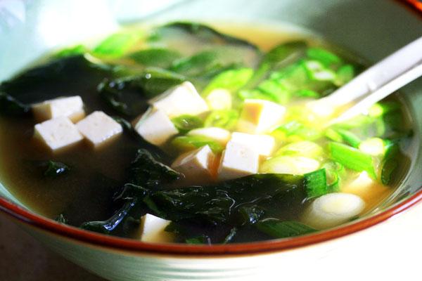 Способы приготовления японского мисо супа