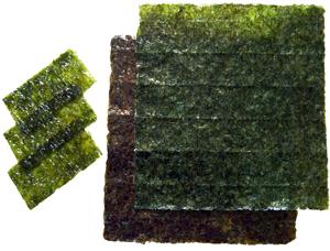Как выбрать водоросли нори для суши